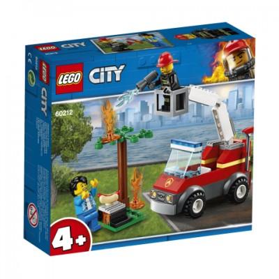60212 LEGO® City Fire Kepsninės gaisras