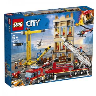 60216 LEGO® City Fire Miesto gaisrininkų brigada