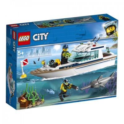 60221 LEGO® City Great Vehicles Nardymo jachta