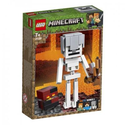 21150 LEGO® Minecraft™ BigFig Skeletas su lavos kubu