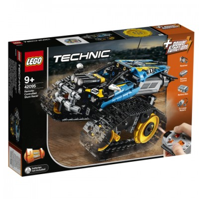 42095 LEGO® Technic Radijo bangomis valdomas kaskadininkų automobilis