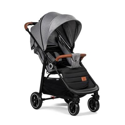 KINDERKRAFT vežimėlis Grande Grey