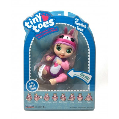 TINY TOES interaktyvi lėlė Tess-Bunny, 56082