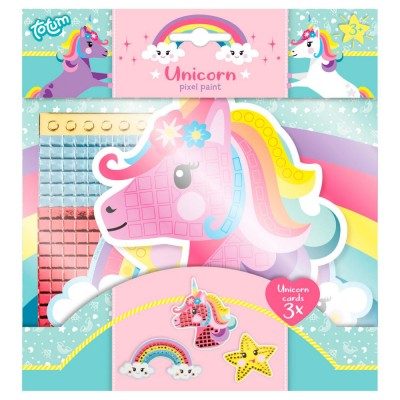 TOTUM mozaikos kūrybinis rinkinys Pixel Paint Unicorn, 071025