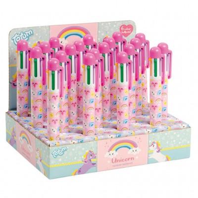 TOTUM tušinukai Unicorn Rainbow, 6 spalvų, 951853
