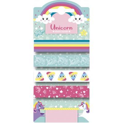 TOTUM elastinės gumytės Unicorn, 071414