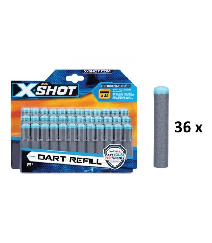 XSHOT šoviniai Dart Refill, 36 vnt., 3618