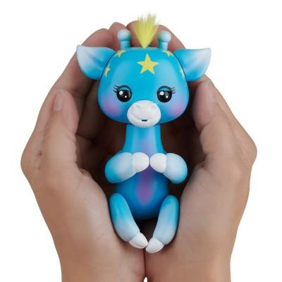 FINGERLINGS elektroninis žaislas žirafa Lil' G, mėlynas 3556