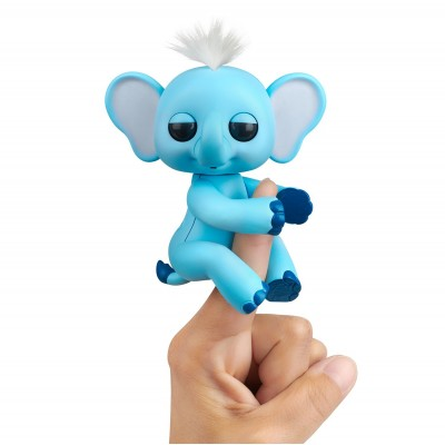 FINGERLINGS elektroninis žaislas drambliukas Gray, 3596