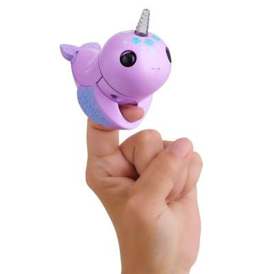 FINGERLINGS elektroninis žaislas banginis Nelly, violetinis, 3696