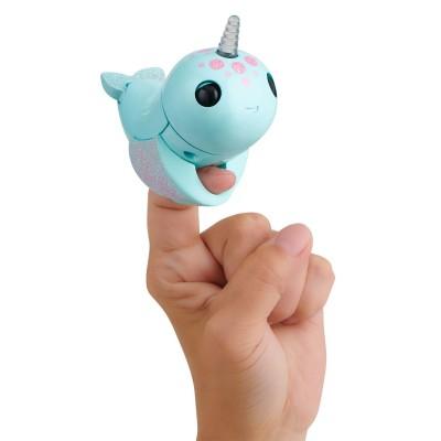 FINGERLINGS elektroninis žaislas banginis Nikki, turkio spalvos, 3699
