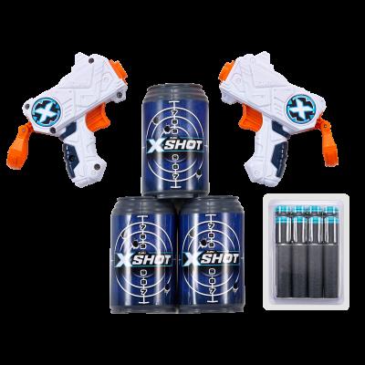 XSHOT žaislinių šautuvų rinkinys Double Micro, 3621