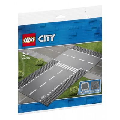 60236 LEGO® City Tiesi atkarpa ir T formos sankryža