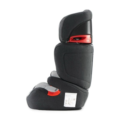 KINDERKRAFT automobilinė kėdutė Junior Fix (ISOFIX) Black/Grey