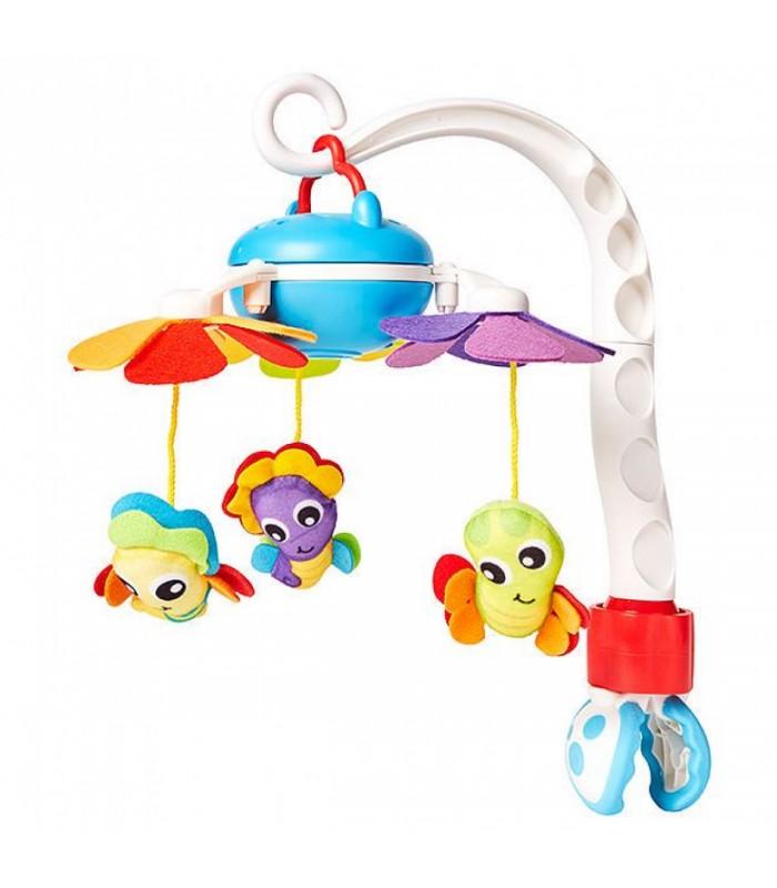 PLAYGRO pakabinamas muzikinis žaislas Travel Mobile, 0185479