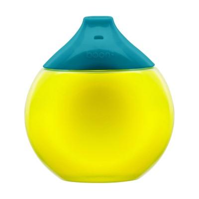 BOON neišsiliejantis puodelis 300ml 9m+ Teal/Yellow B11059