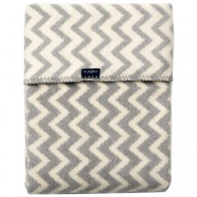 WOMAR pledas Grey&White Zigzag 75x100cm