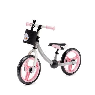 KINDERKRAFT balansinis dviratis 2WAY, rožinis, 12'', KKR2WNXLTPK0AC