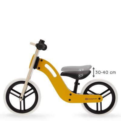 KINDERKRAFT balansinis dviratis UNIQ, Honey 12'', KKRUNIQHNY0000