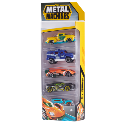 METAL MACHINES automobilio rinkinys S1 Multi Pack Car 5PK, 6709
