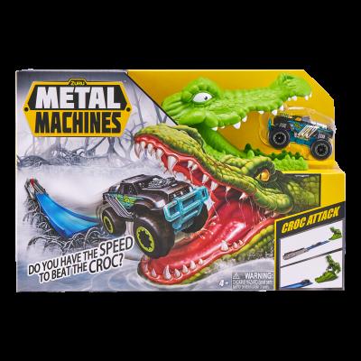METAL MACHINES trasos rinkinys su automobiliu Crocodile, 1 serija, 6718