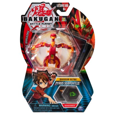 BAKUGAN rinkinys Ultra Ball Pack, asort., 6045146/6055124