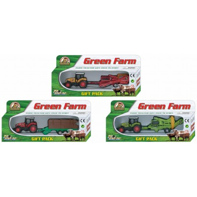 PIONEER traktorius su priek. GREEN FARM, 3 asort., PT413