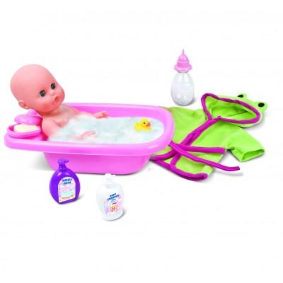 BAMBOLINA lėlė su vonios rinkiniu Amore, 30cm, BD1839