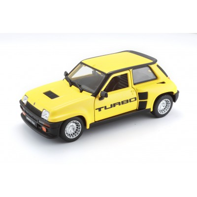 BBURAGO automodelis 1/24 Renault 5 Turbo, 18-21088