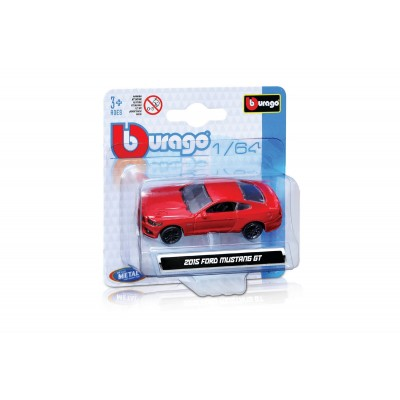 BBURAGO 1/64 automodelis Vehicles, asort., 18-59000