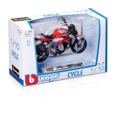 BBURAGO 1/18 motociklas, asort., 18-51030