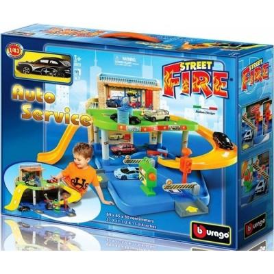 BBURAGO 1:43 rinkinys auto servisas Street Fire, 18-30039
