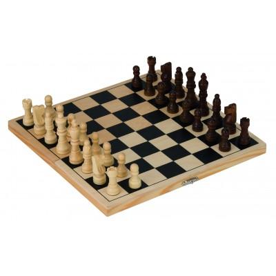GOLLNEST AND KIESEL šachmatai medinėje dėžėje, HS040