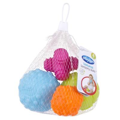 PLAYGRO sensoriniai kamuoliai Textured Sensory Balls, 4 vnt, 4087682