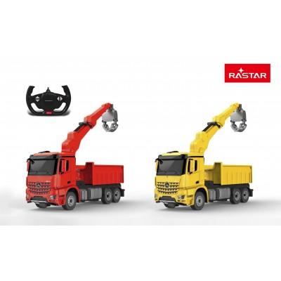 RASTAR automodelis valdomas 1/24  Mercedes - Benz Arocs Logging vehicle 2.4G, 79060
