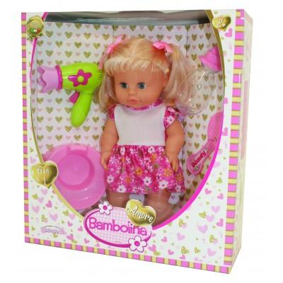 BAMBOLINA lėlė su dovanų rinkiniu plaukams Amore, 30cm, BD1825