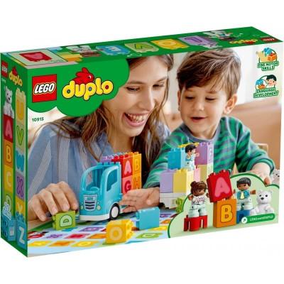 10915 LEGO® Duplo Abėcėlės sunkvežimis