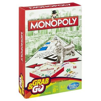 HASBRO GAMING kelioninis žaidimas Monopoly, B1002