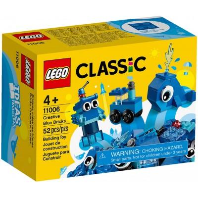 11006 LEGO® Classic Mėlynos kaladėlės