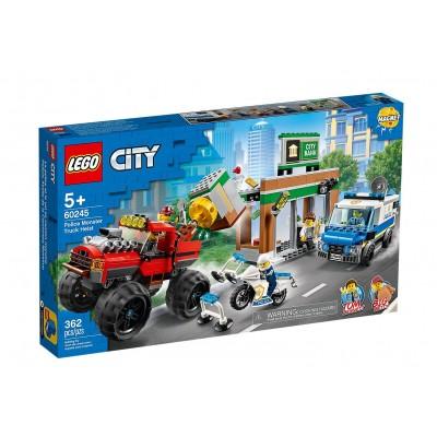 60245 LEGO® City Policijos sunkvežimio monstro apiplėšimas