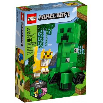 21156 LEGO® Minecraft™ BigFig Creeper™ BigFig su Ocelotu