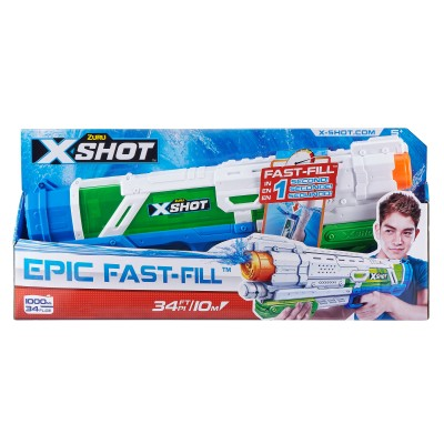 X-SHOT žaislinis vandens šautuvas Epic Fast-Fill, 56221