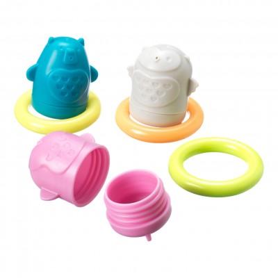 TOMMEE TIPPEE vonios žaislai Squirtee Floats, 491009