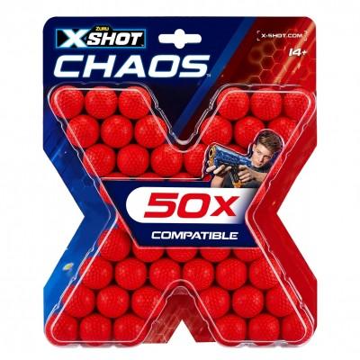 X-SHOT šoviniai Blaster Chaos, 50 vnt., 36327