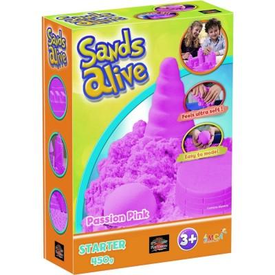 SANDS ALIVE Kinetinio smėlio spalvotas rinkinys pradedantiesiems, 2607