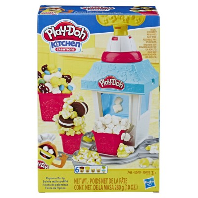 PLAY DOH rinkinys Popcorn Party, E5110EU4