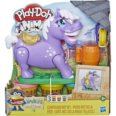 PLAY DOH Animal Crew Pony rinkinys, E67265