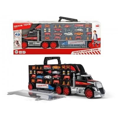 SIMBA DICKIE TOYS mašinų lagaminas sunkvežimis, 203749023