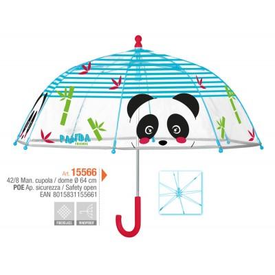 PERLETTI vaikiškas skėtis Panda, 15566