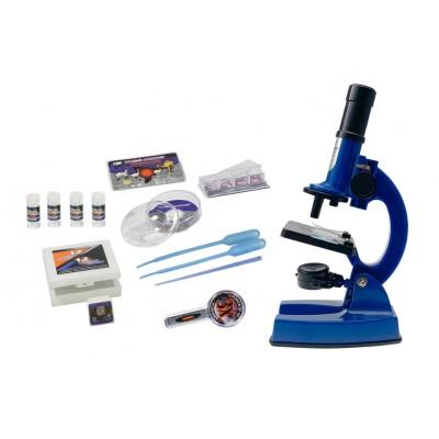 EASTCOLIGHT mikroskopo rinkinys Deluxe, 100/450/900X, 90081